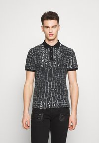 Just Cavalli - ANIMAL PRINT - Polo shirt - black - 0