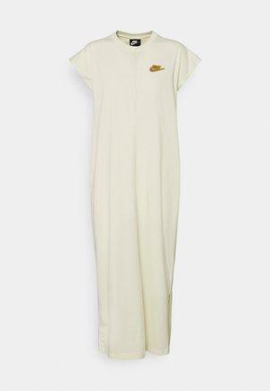 DRESS EARTH DAY  - Jersey dress - coconut milk/wheat
