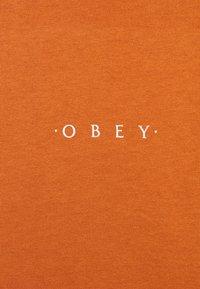 Obey Clothing - NOVEL  - T-shirt basic - pumpkin spice - 2