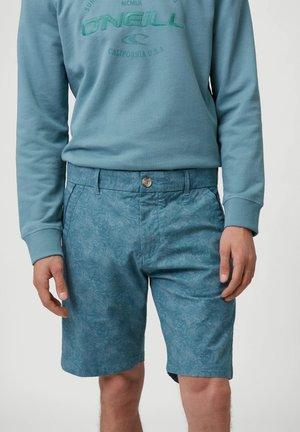 OUTLINE FLORAL - Shorts - arctic