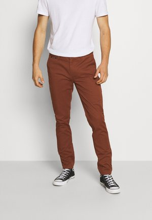MOTT CLASSIC  - Trousers - brown