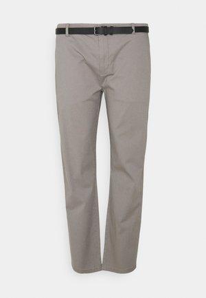 SUPERFLEX PANTS - Chino kalhoty - grey