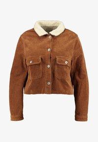 Cotton On Curve - GIRLFRIEND JACKET - Summer jacket - brushetta sherpa - 4