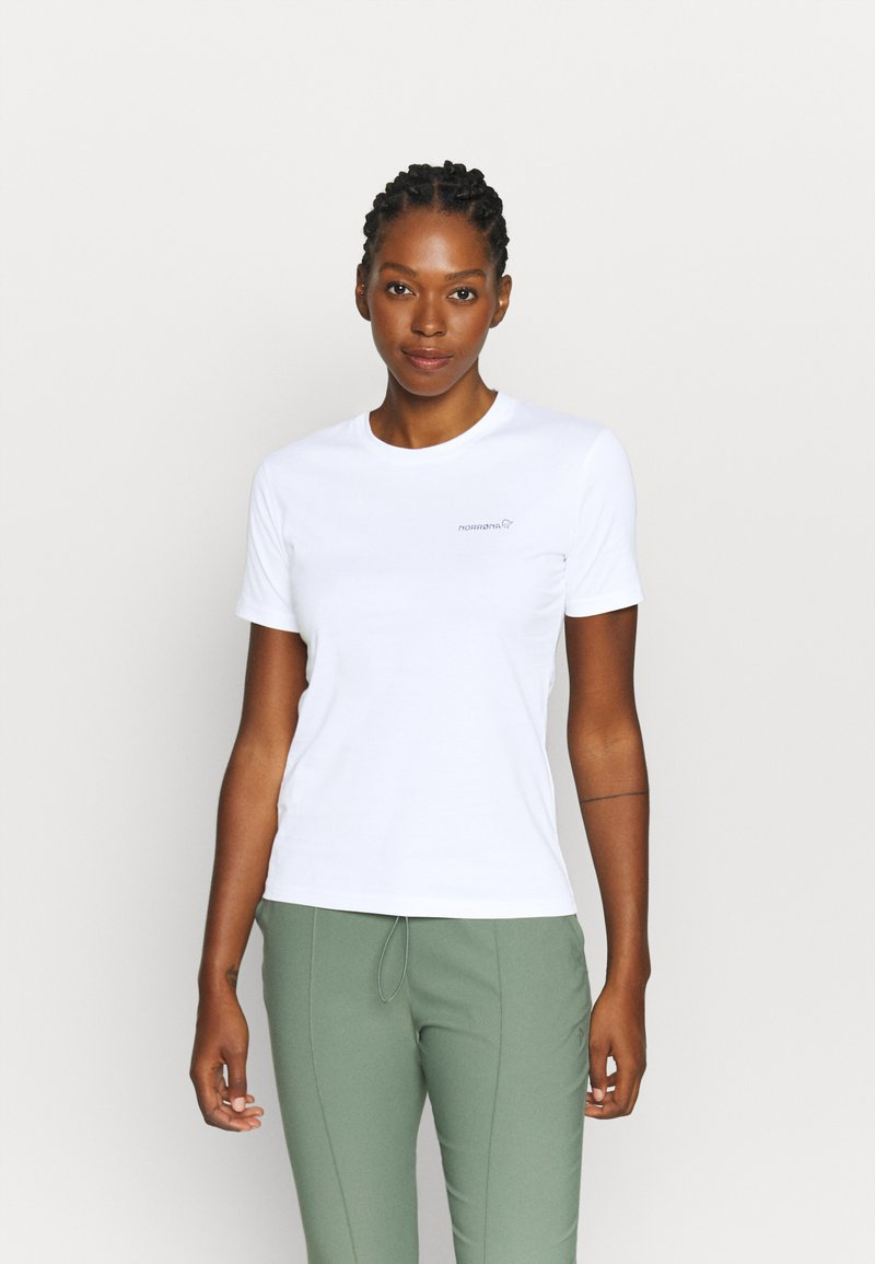 Norrøna - Basic T-shirt - white