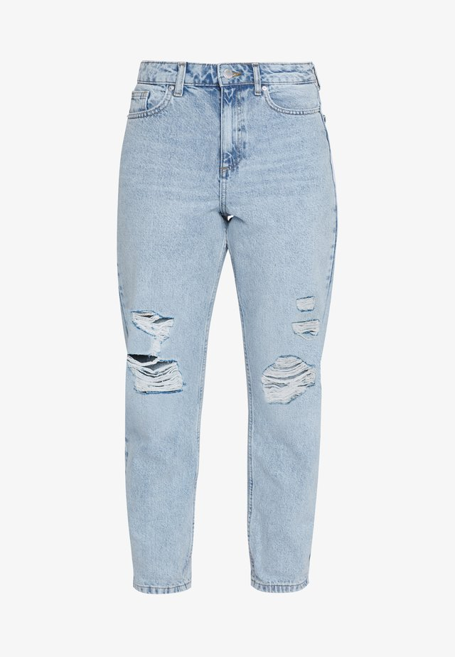 RIPPED MOM - Jean boyfriend - blue