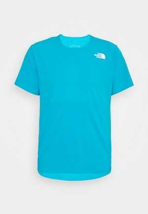 TRUE RUN - Print T-shirt - meridian blue