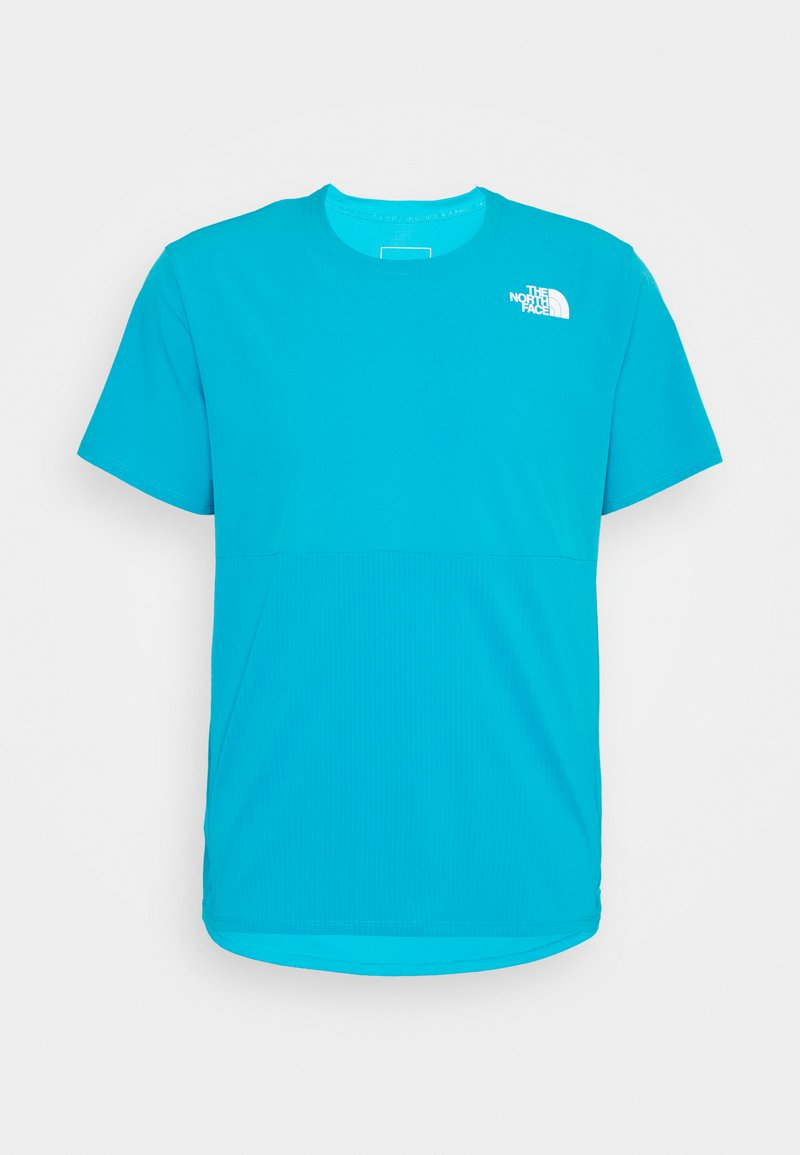 The North Face - TRUE RUN - Print T-shirt - meridian blue