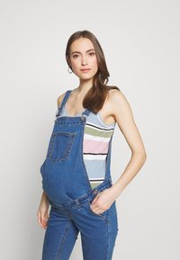 Missguided Maternity - DUNAGREE - Dungarees - blue - 3