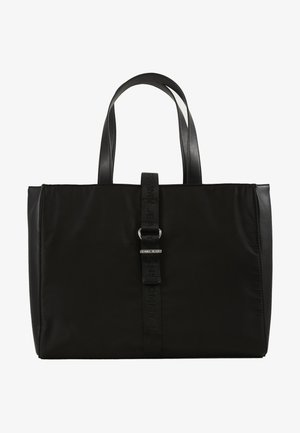 MODERN TWIST TOTE - Tote bag - black