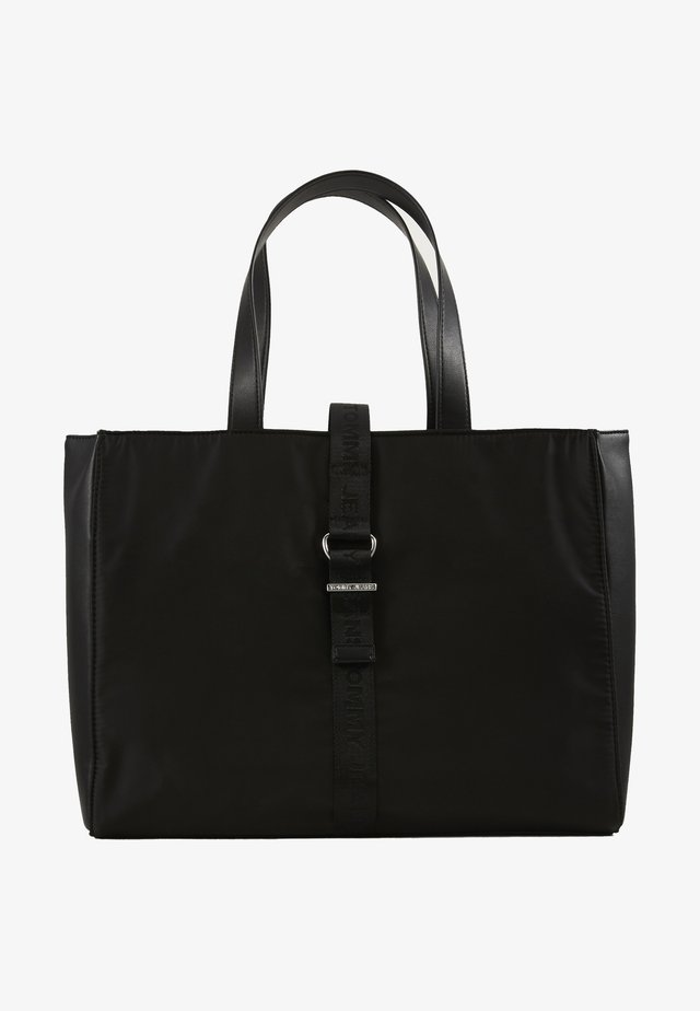 MODERN TWIST TOTE - Shoppingveske - black