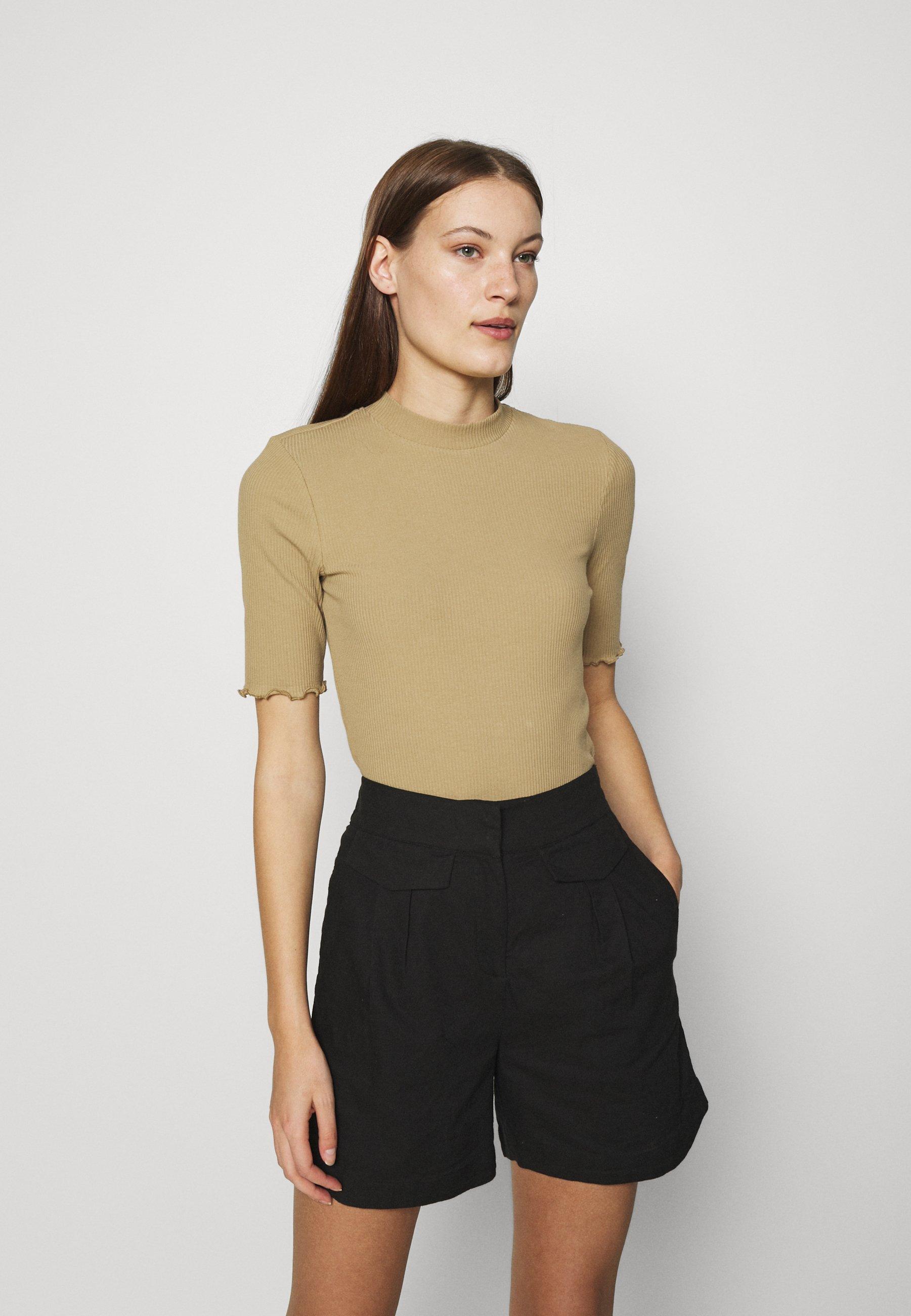 Women ANNA CREW NECK - Basic T-shirt
