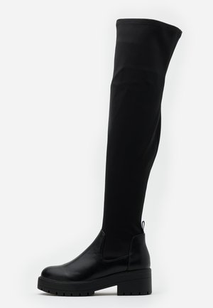 ONLBRANKA LONG SHAFT BOOT  - Kozačky nad kolena - black