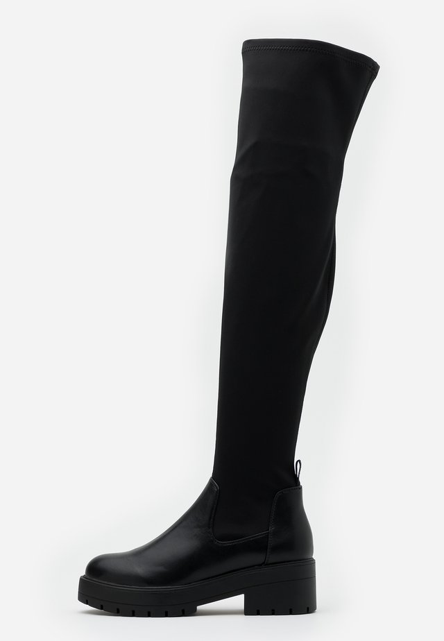 ONLBRANKA LONG SHAFT BOOT  - Cuissardes - black