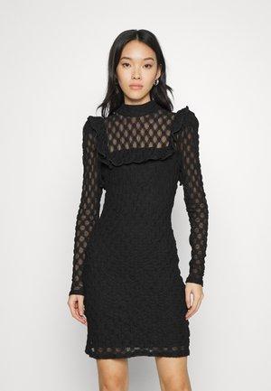 BODYCON MINI DRESS - Etuikjole - black