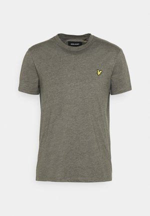 MARLED - T-shirt basic - trek green marl