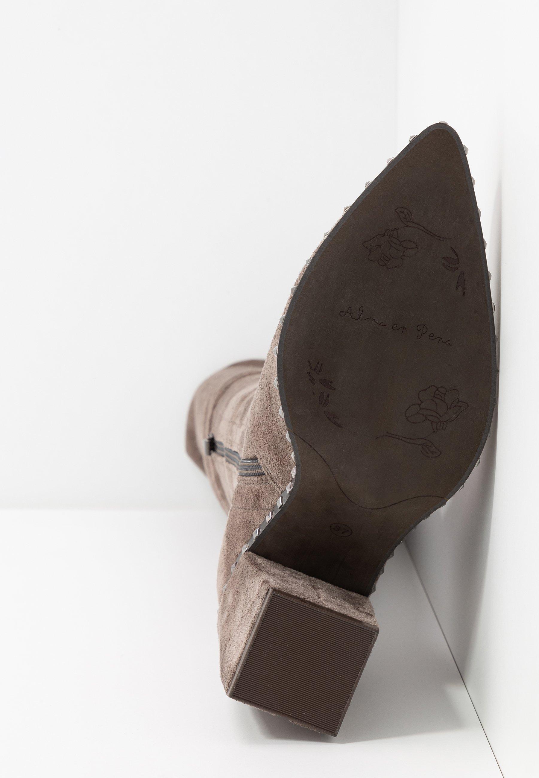 Alma en Pena High Heel Stiefel taupe
