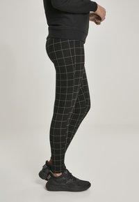 Urban Classics - Leggings - Trousers - black/white - 5