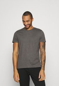 Burton Menswear London - TEE 3 PACK - T-shirt basic - black - 4