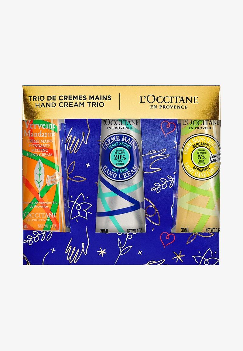 L'OCCITANE - HAND CREAM TRIO LIMITED EDITION - Bath and body set - -