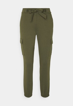 TRACKPANTS - Bukser - deep olive green