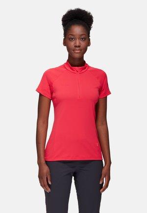 AEGILITY HALF ZIP - Basic T-shirt - sunset