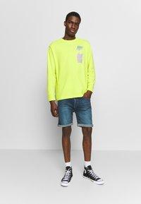 D-STRUCT - ARLES  - Denim shorts - blue - 1