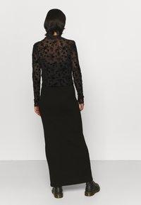 Even&Odd - Long sleeved top - black - 2