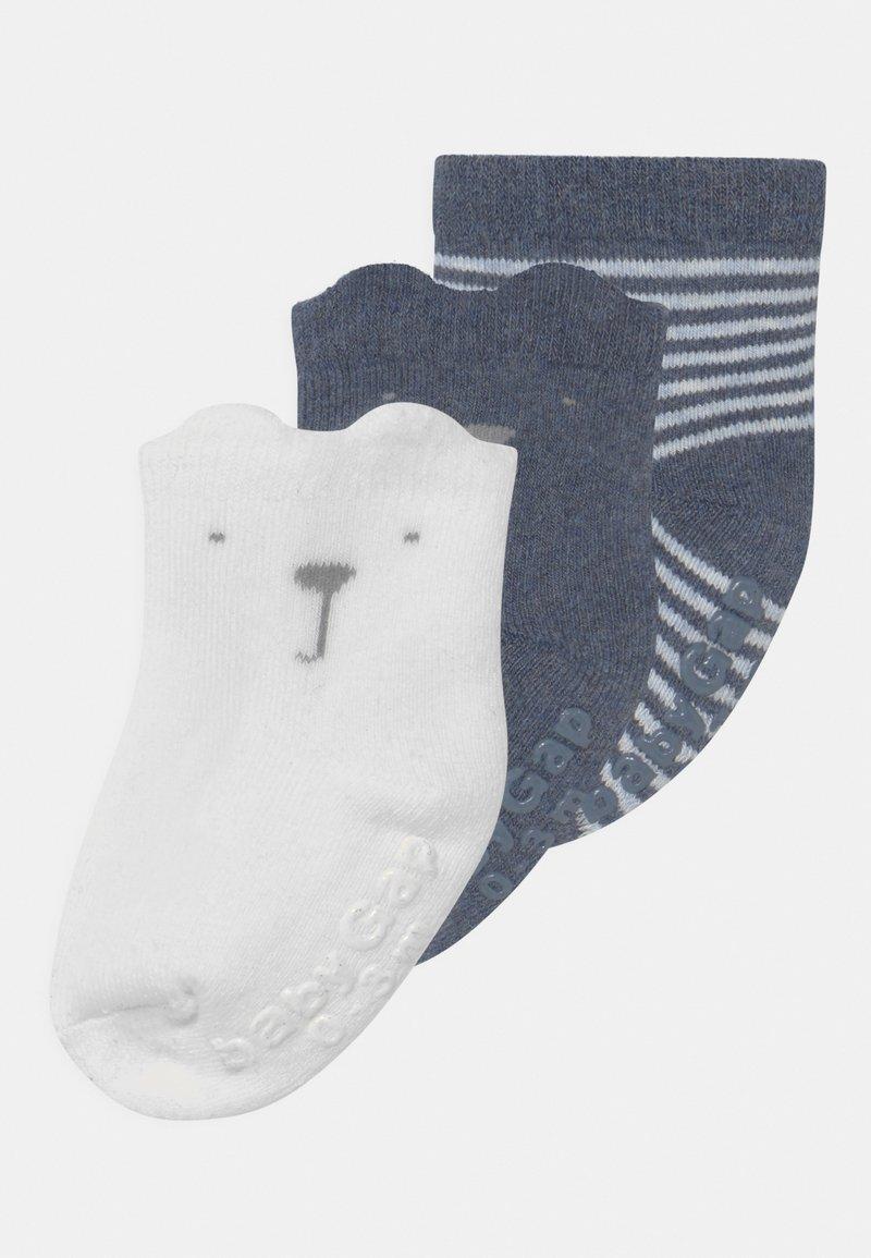 GAP - 3 PACK UNISEX - Socks - blue heather
