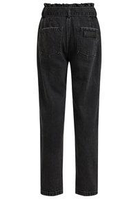 WE Fashion - Straight leg jeans - black - 3