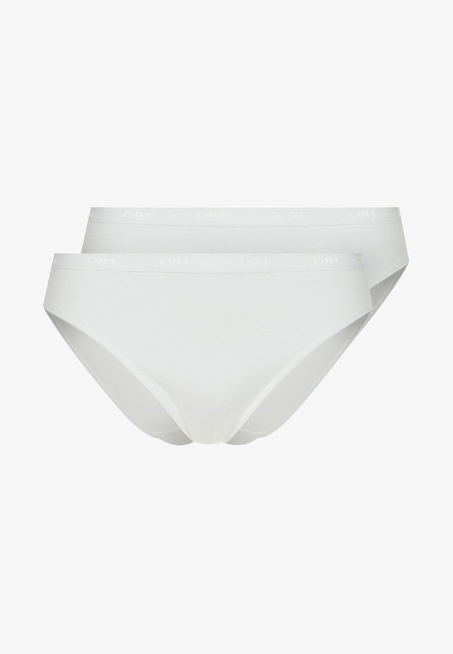 PLUS MY BIO 2 PACK - Kalhotky - blanc