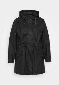Vero Moda Curve - VMMALOU COATED - Waterproof jacket - black - 4