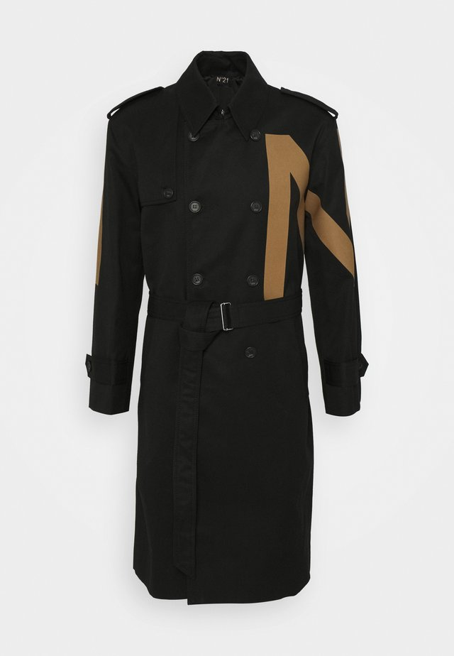 CAPPOTTO - Trenchcoat - nero