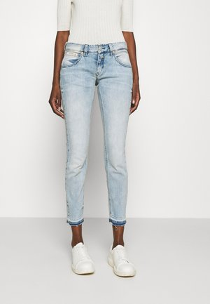 TOUCH CROPPED TOUCH - Slim fit jeans - ice