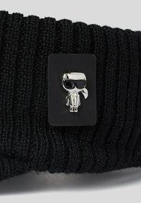KARL LAGERFELD - K/IKONIK 3D PIN - Cap - black - 1