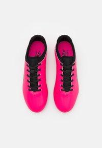 Umbro - VELOCITA VI CLUB FG - Moulded stud football boots - pink peacock/black/white - 3