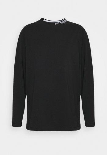 NEW ZUMU TEE - Long sleeved top - black