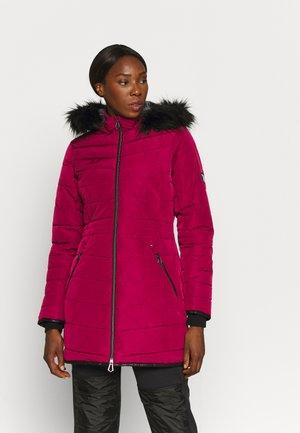 STRIKING JACKET - Winter coat - beetroot