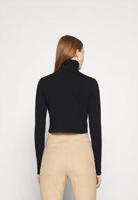 Cotton On - EVERYDAY CHOP MOCK NECK LONG SLEEVE - Top sdlouhým rukávem - black - 2