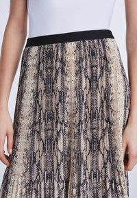 SET - A-line skirt - light stone grey - 3