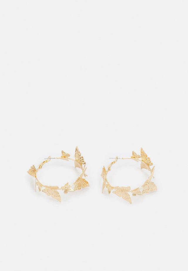 FLOWINA EARRINGS - Örhänge - gold-coloured