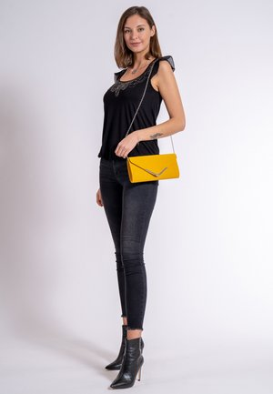 AMALIA - Clutch - yellow