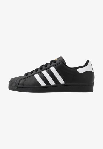SUPERSTAR UNISEX - Trainers - core black/footwear white