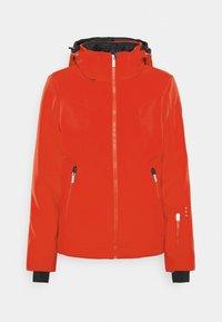 ERIE - Lyžařská bunda - coral red