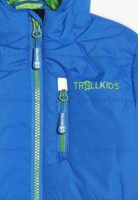 TrollKids - KIDS HEMSEDAL SNOW JACKET - Light jacket - medium blue - 3