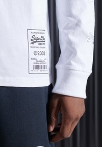 Superdry - Long sleeved top - brilliant white - 2