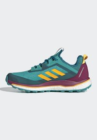 adidas Performance - TERREX AGRAVIC GORE-TEX BOOST TRAIL RUNNING - Løbesko trail - turquoise - 6