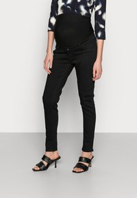 Anna Field MAMA - Jeans Skinny Fit - black - 0