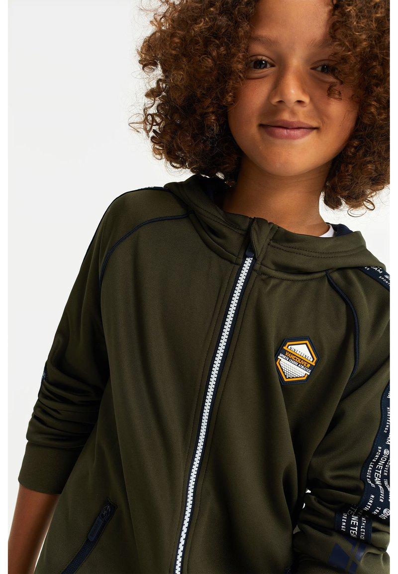 WE Fashion - Zip-up hoodie - dark green