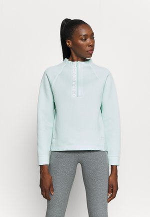 MOVE HALF ZIP - Mikina - seaglass blue