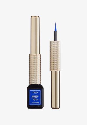 MATTE SIGNATURE EYELINER - Eyeliner - 02 blue